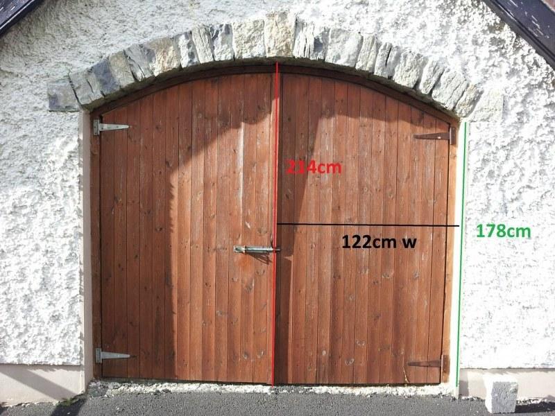 Before Old Wood Door & Retro-Fit - Garage Doors Direct Ltd. pezcame.com