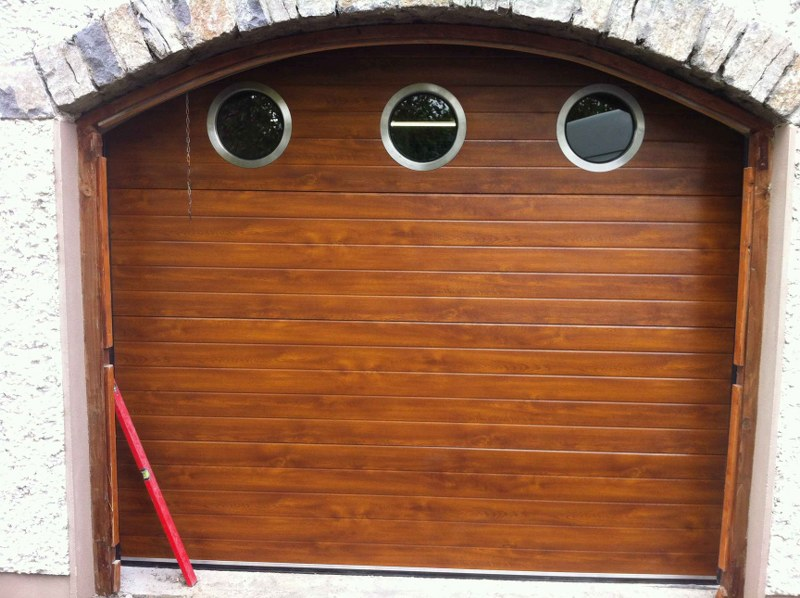 After Kingspan Oak Door Fitted & Retro-Fit - Garage Doors Direct Ltd.